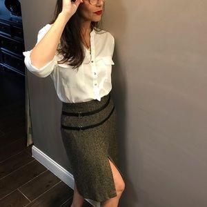Italian Made Tweed Skirt | SZ 6